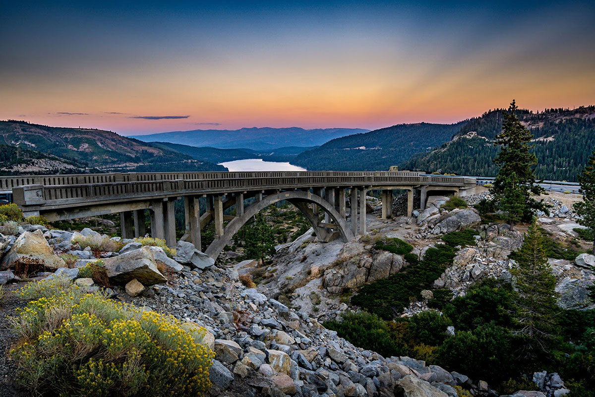 bridge in truckee